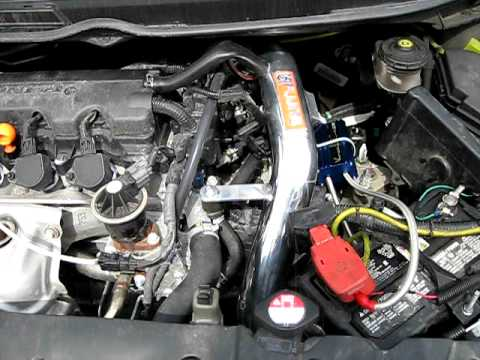 2008 Honda Civic Fuel Filter 2008 Honda Civic With Fujita Cold Air Intake System Rev