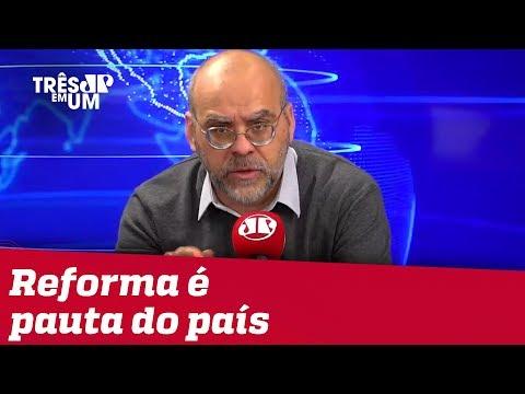 #AlexandreBorges: Reforma da Previdência é pauta do país, não é a pauta de um governo