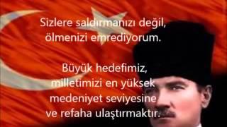 Atatürk'ün Özlü Sözleri