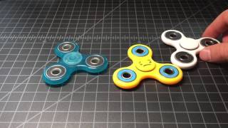 7-Eleven vs Walgreens vs Amazon Spintech fidget tri-spinner SHOOTOUT #1037  | OST