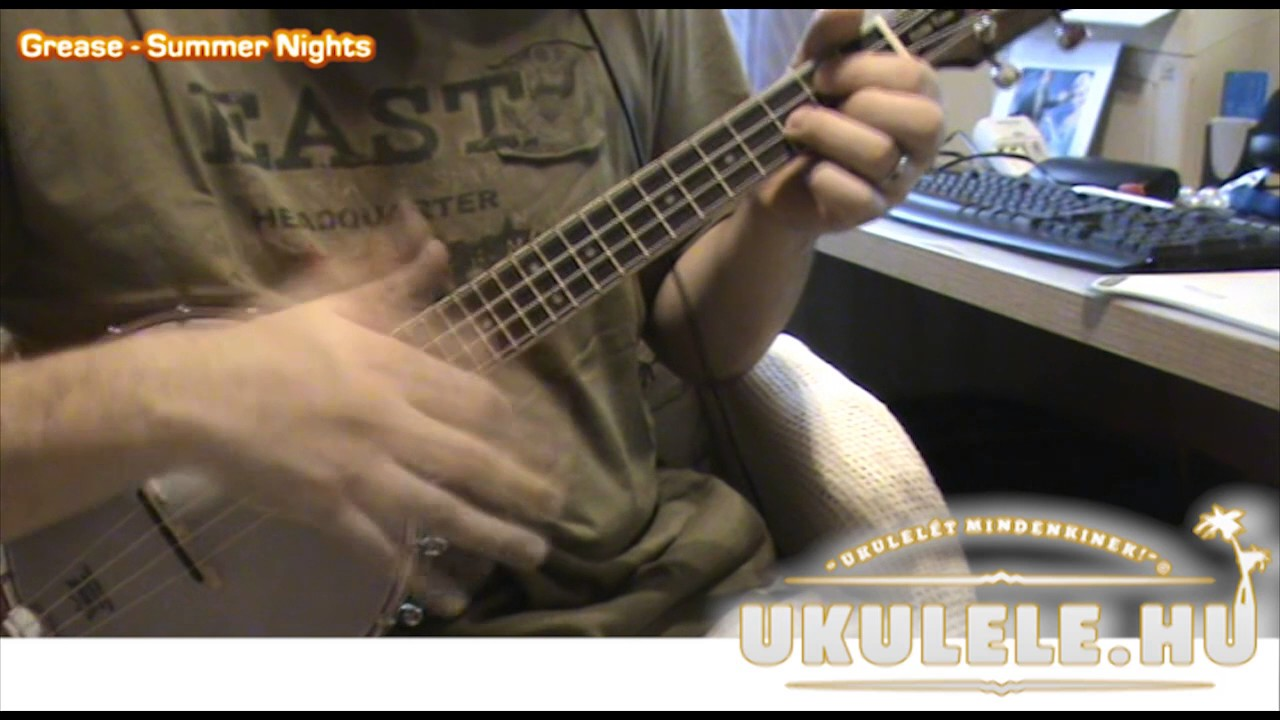 Summer nights grease banjolele ukulele chords youtube summer nights grease banjolele ukulele chords hexwebz Image collections