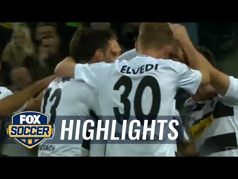 László Bénes gives Monchengladbach 1-0 lead against Hertha Berlin  | 2016-17 Bundesliga Highlights