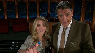 Late Late Show with Craig Ferguson 12/3/2010 Kristen Bell, Michael Franti