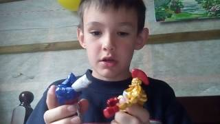 Іграшки з мотиву жива сталь