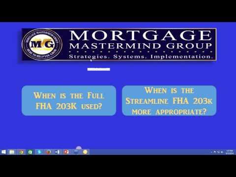Texas FHA 203k Loans