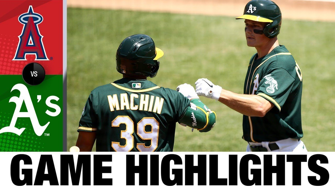 A's use 5-run 1st to power past Angels | Angels-A's Game Highlights 7/26/20