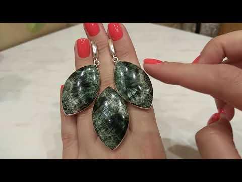 Серебряные украшения с натуральными камнями. Часть 2.