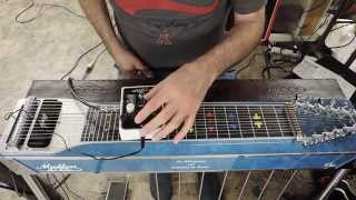EH B9 Organ Machine demo w/pedal steel