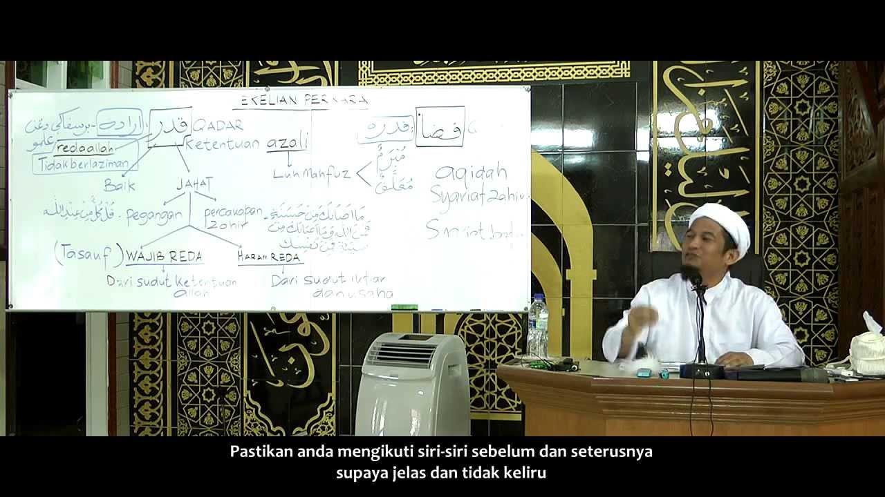 Ust Wan Junaidi Qadar Dan Qada Siri11 Punca Dan Contoh Pegangan