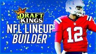 DraftKings Lineup Builder for Week 16