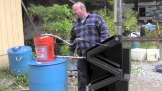 Wiseway Pellet Stoves Water Heating Feature