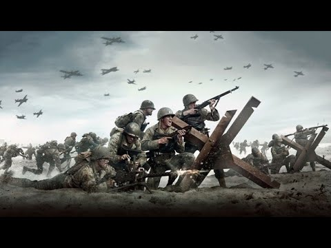 Call of Duty WWII in 4K-Mission D-Day Part I