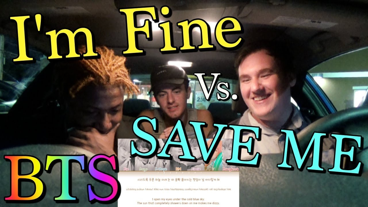 I'm Fine vs  Save Me [BTS REACTION]