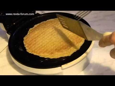 Видео Блины с овсяной муки рецепт