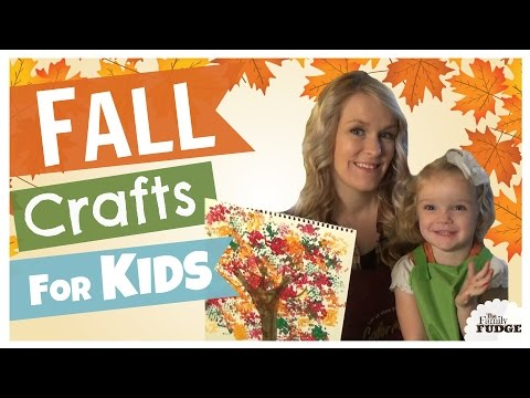 Fall Craft Ideas For KIDS Collab || Under $5 Each #DollarTree || TheFamilyFudge