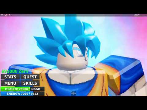 Roblox Dragon Ball Ultimate Super Saiyan Blue Kaioken Final
