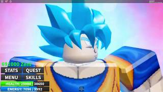 Roblox Dragon Ball Ultimate Super Saiyan Blue Kaioken! Final Kamehameha!