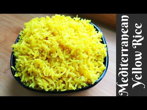 Mediterranean Yellow Rice | Turmeric Rice
