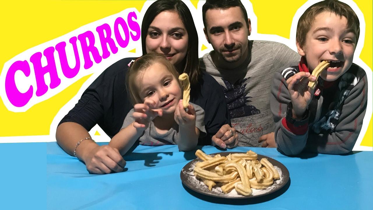 Recette Churros De Fete Foraine ??recette churros maison super facile avec virus tv !!! - kid studio test