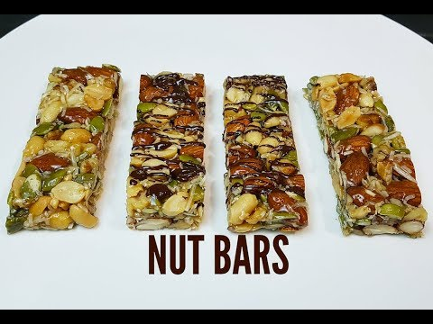 DELICIOUS NUT BARS CookingwithKarma