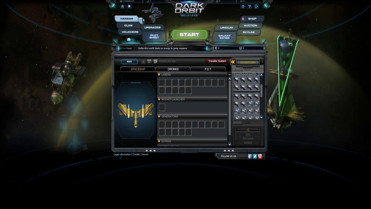 бонус код к игре darkorbit