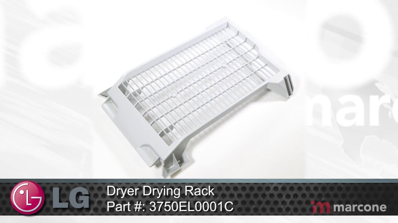 Lg Dryer Drying Rack Part 3750el0001c