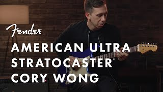 Cory Wong Plays The American Ultra Stratocaster | American Ultra Series | Fender