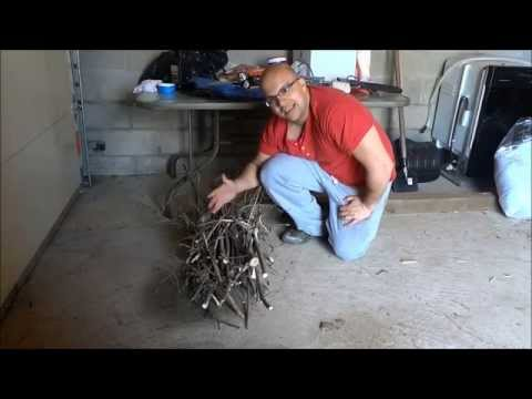 How To Bundle Wood And Branches Using Rope