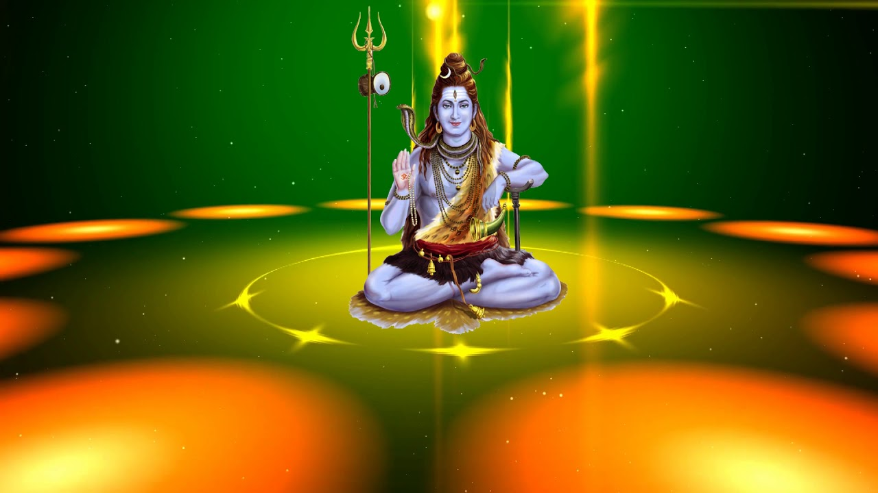 Lord Shiva God 3d And 4k Free Hd Animated Video Background Dmx
