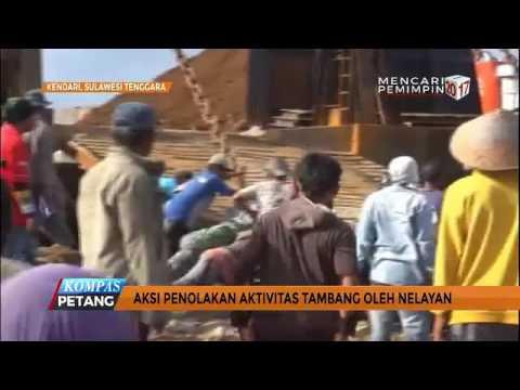 SULAWESI TENGGARA : Ratusan Nelayan Demo Tolak Aktivitas Tambang