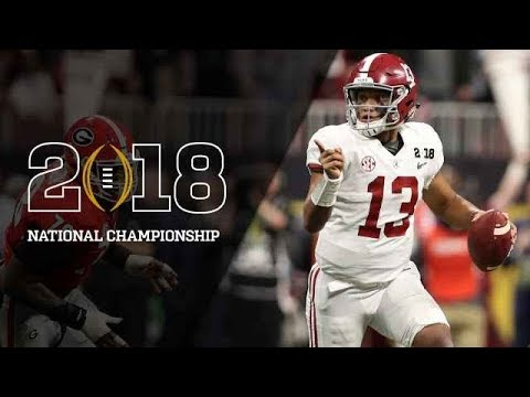 Alabama vs. Georgia National Championship Highlights 2018 (HD)