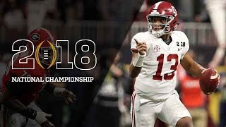 Alabama vs Georgia National Championship Highlights 2018 HD