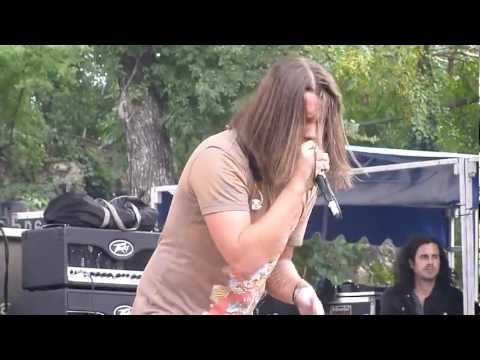 The Red Jumpsuit Apparatus - Guitar Solo / False Pretense @ Sunken Garden Theater - San Antonio, TX