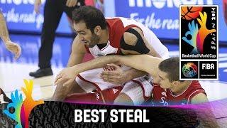 Iran v Serbia - Best Steal - 2014 FIBA Basketball World Cup