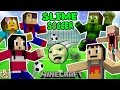 FGTEEV FAMILY SLIME SOCCER MATCH!  Super Fun Minecraft Game w/ Furby Crowd (6 Players)