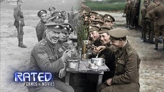 How Peter Jackson 'Brought To Life' WW1 Footage In His New Film | RATED