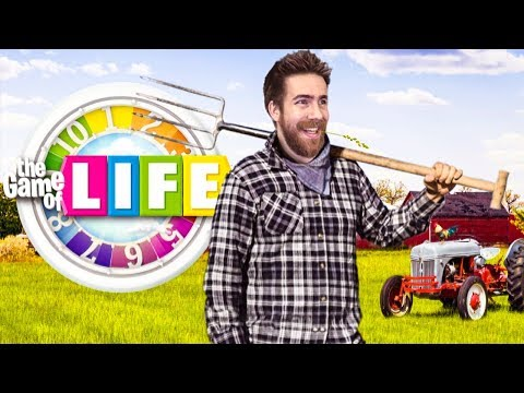 I QUIT YOUTUBE TO BECOME A FARMER - THE GAME OF LIFE