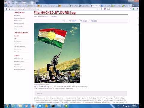wiki.mozilla.org hacked by kurd