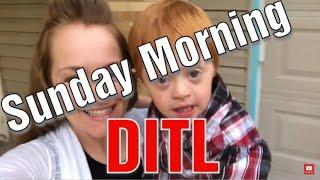 A Crazy Sunday Morning DITL / Moms Are Superhero's 😂