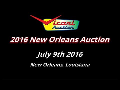 Vicari Auctions: New Orleans, LA 2016 - Full Auction Video HD