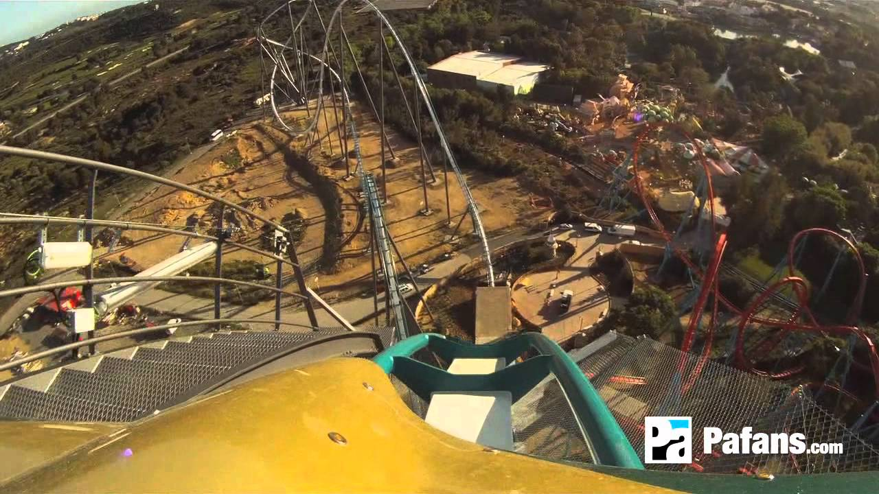 shambhala on ride pov video portaventura official youtube. Black Bedroom Furniture Sets. Home Design Ideas