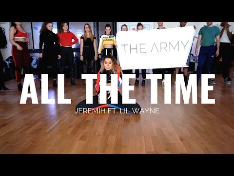 Смотреть клип Jeremiah Ft. Lil Wayne - All The Time