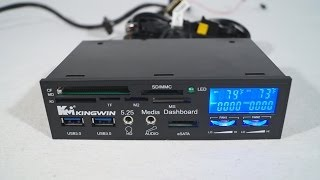 Video #1540 - Kingwin FPX-004 Multi Function LCD Fan Controller I/O Panel download MP3, 3GP, MP4, WEBM, AVI, FLV Desember 2017