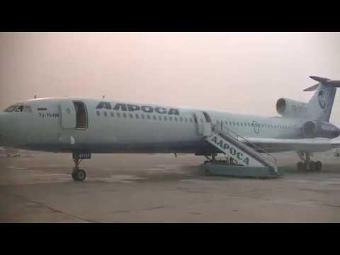 Ту-154M. RA-85757 Часть IV. 26.07.2019. MJZ — OVB / Tupolev Tu-154M. Part IV