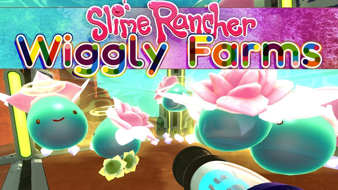 Lotus Flower Slimes! - Slime Rancher: Wiggly Farms - #16