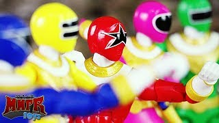 Power Rangers ZEO Toy Battle & Review!