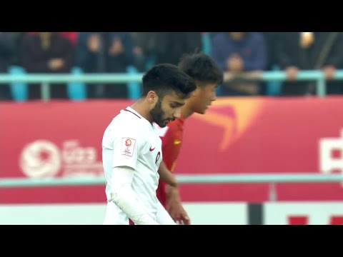 China vs Qatar (AFC U23 Championship: Group Stage)
