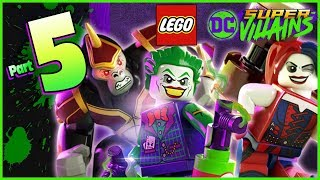 LEGO DC Super Villains Walkthrough Part 5 Harley & Ivy (Co-op)
