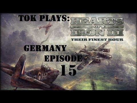 Tok plays HoI3 - Germany ep. 15 - Turning West