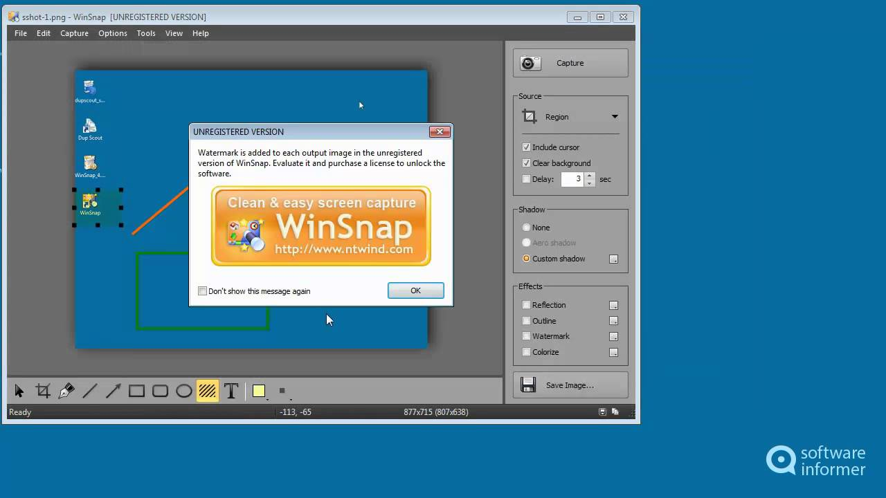 winsnap video tutorial youtube